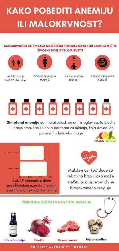 anemija lecenje infografik