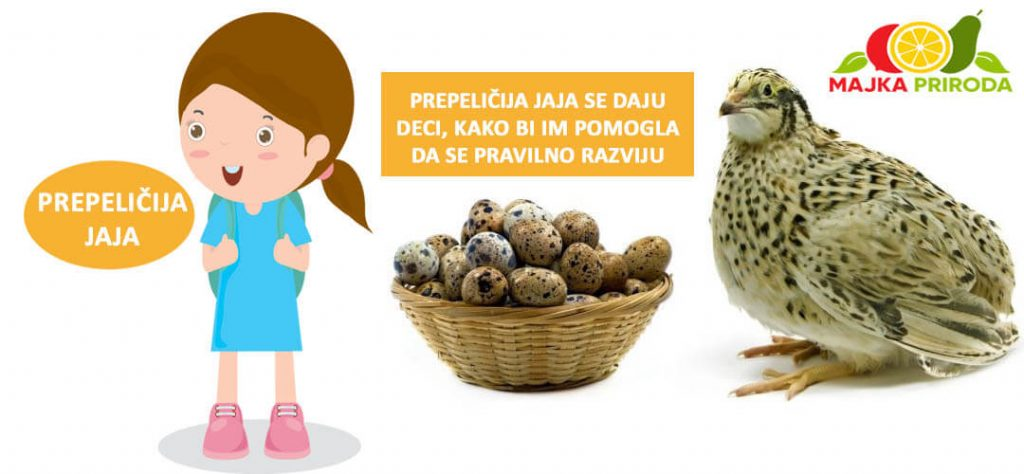 prepeličija jaja za decu