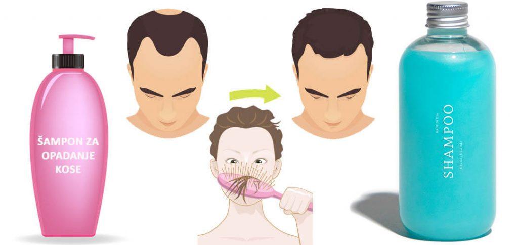 sampon za opadanje kose roze i plavi