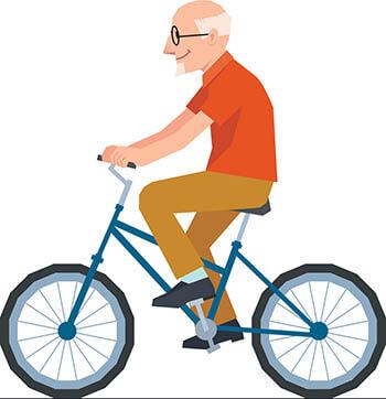 voznja bicikla za starije ljude
