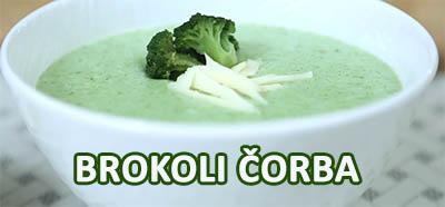 recept za čorbu od brokolija