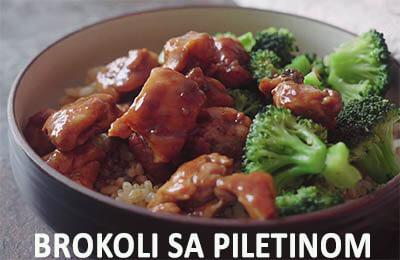 brokoli sa piletinom
