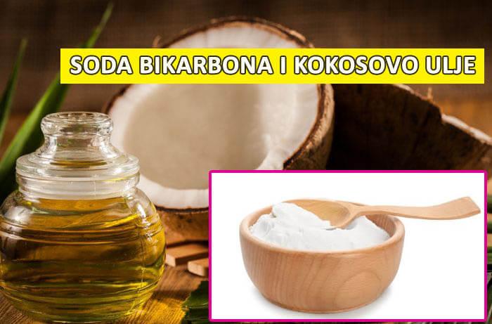 kokosovo ulje i soda bikarbona