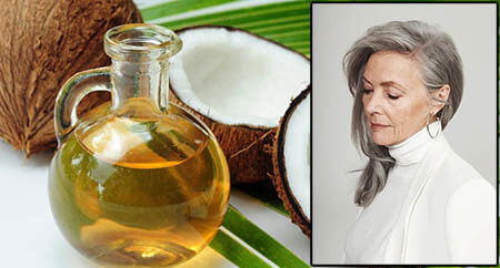 kokosovo ulje za sedu kosu