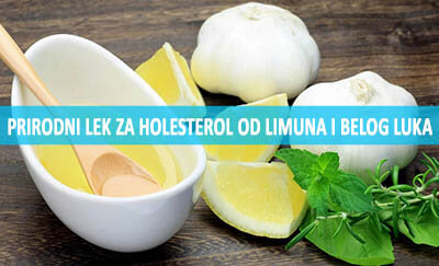 limun i beli luk za holesterol