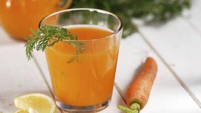 sok od šargarepe