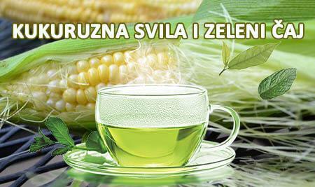 kukuruzna svila i zeleni čaj