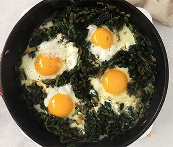 recept sa jajima