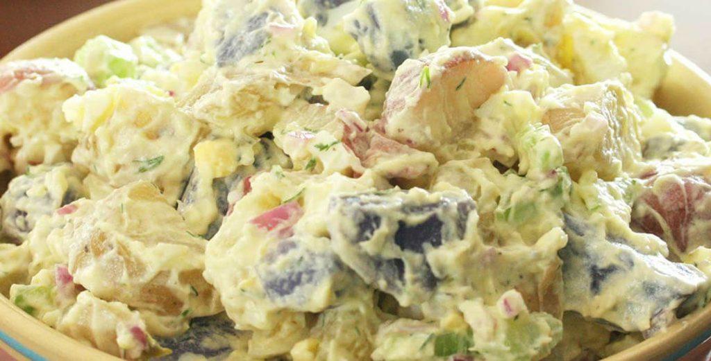 krompirova salata sa majonezom