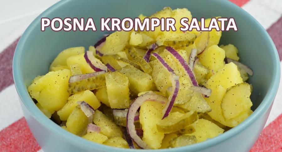 posna salata sa krompirom