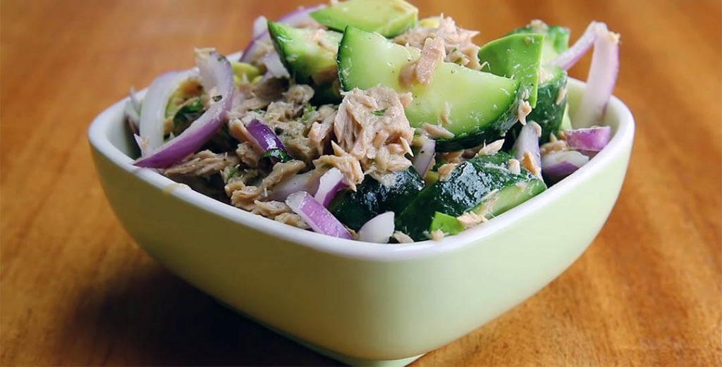 posna salata sa tunjevinom recept