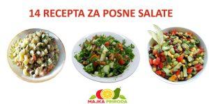 Svi najbolji recepti za posne salate su ovde na jednom mestu