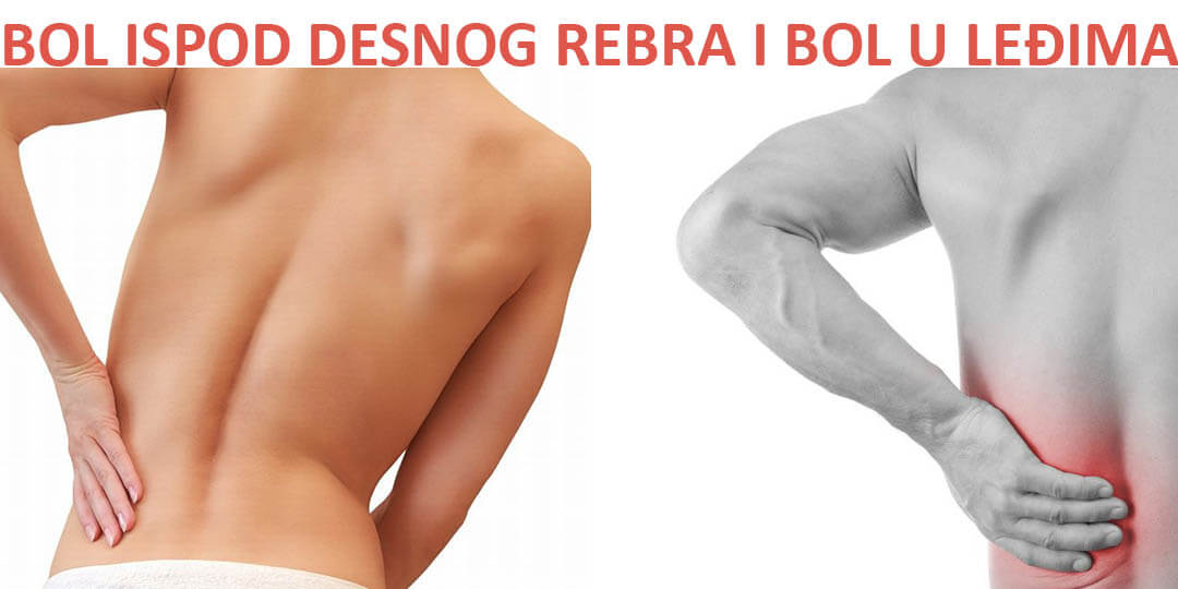 Bol ispod desnog rebra