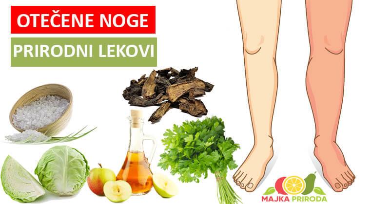 prirodni lekovi za oticanje nogu