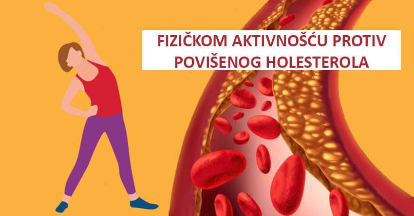 holesterol fizicka aktivnost