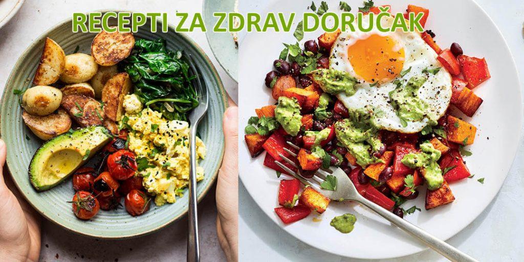 Recepti za zdrav doručak