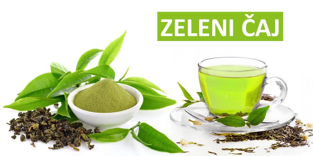 slika zelenog čaja