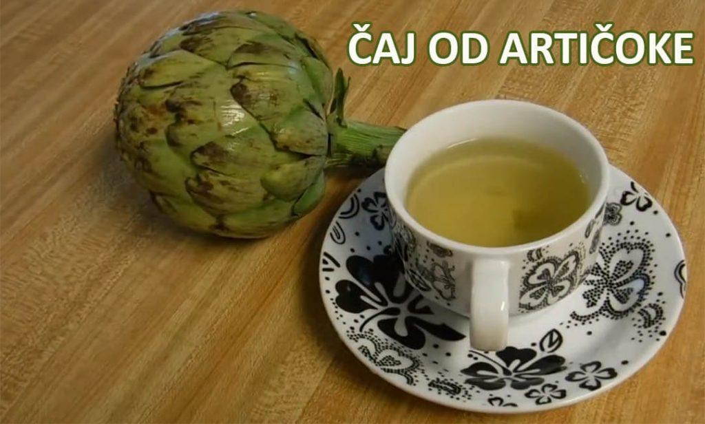 kako se pravi čaj od artičoke